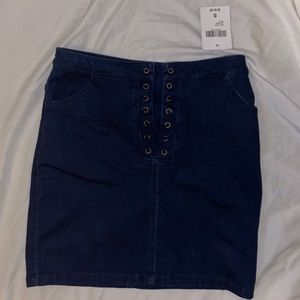 Forever 21 Denim Skirt (NWT)